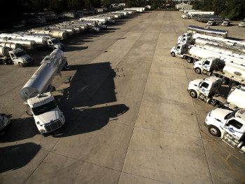 Dupre Logistics Fleet of Trucks