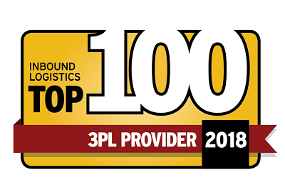 Top 100 3PL Provider Award 2018