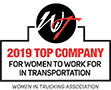 2019 Top Company for Women to Work in Transportation